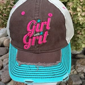 New Farm Girl Girl With Grit Cap